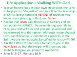life application walking with god