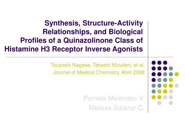 Synthesis, Structure-Activity