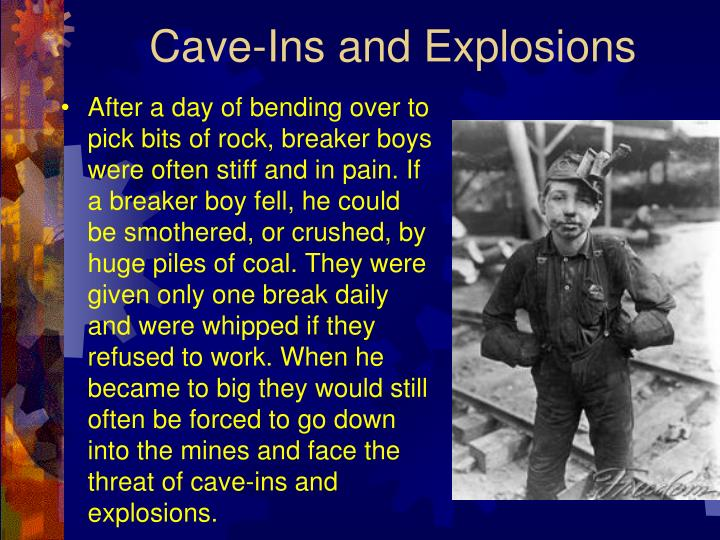 Cave-Ins and Explosions