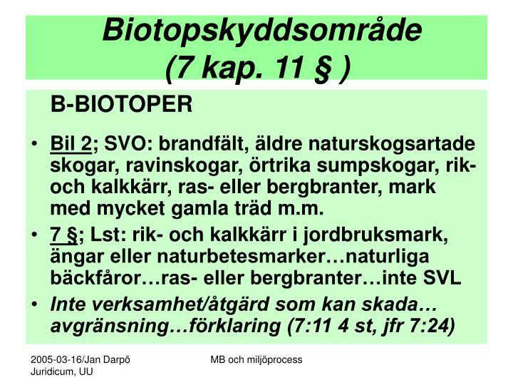 Biotopskyddsområde