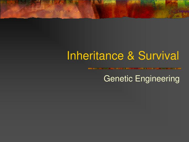 Inheritance survival