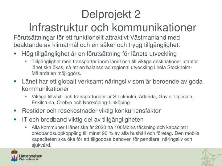 Delprojekt 2