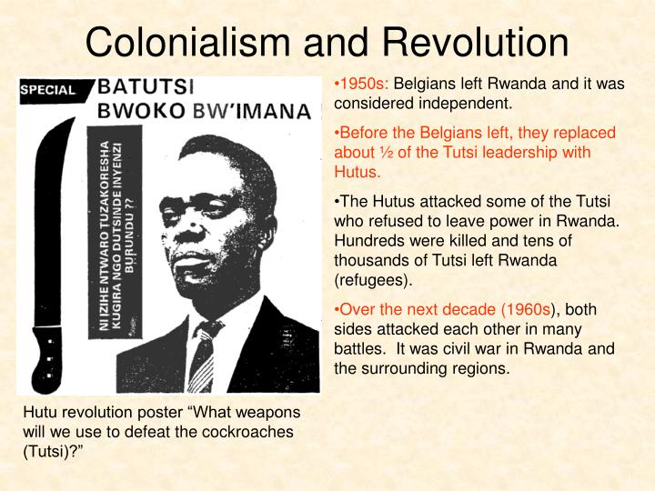 Colonialism and Revolution