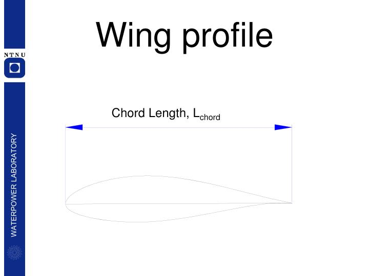 Wing profile