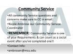community service1