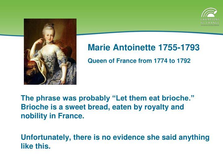 Marie Antoinette 1755-1793