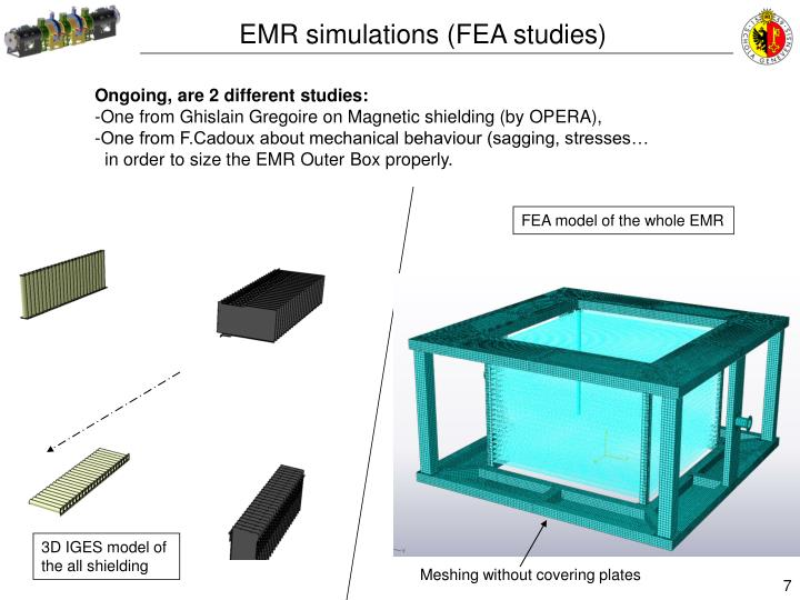 EMR simulations (FEA studies)