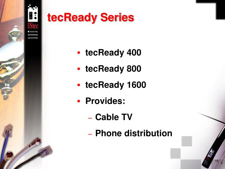 tecReady Series