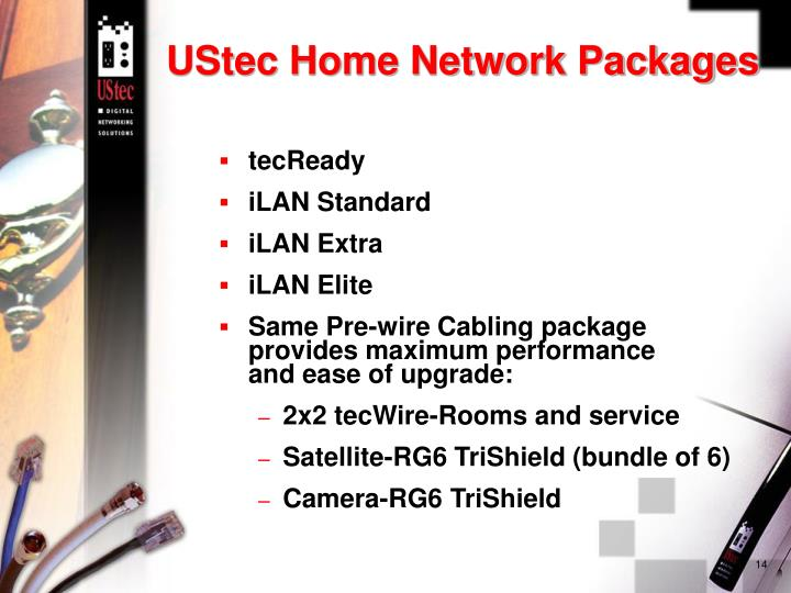 UStec Home Network Packages
