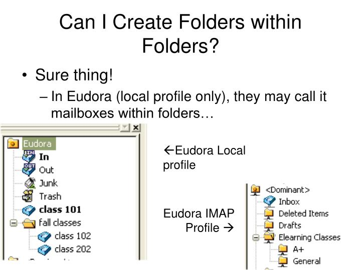 Can I Create Folders within Folders?