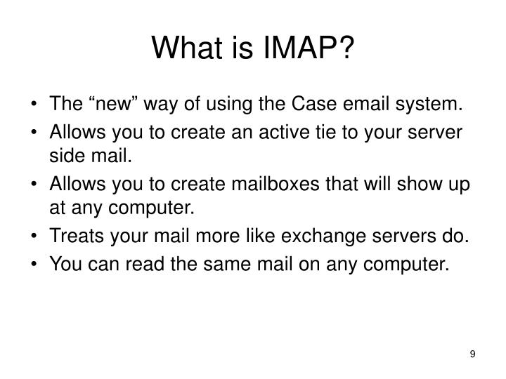What is IMAP?