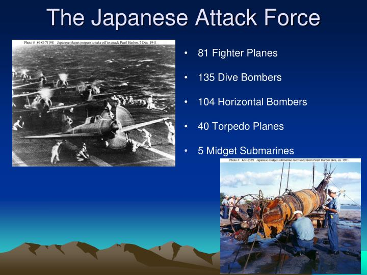 The Japanese Attack Force