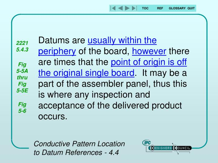 Datums are