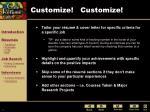 customize customize