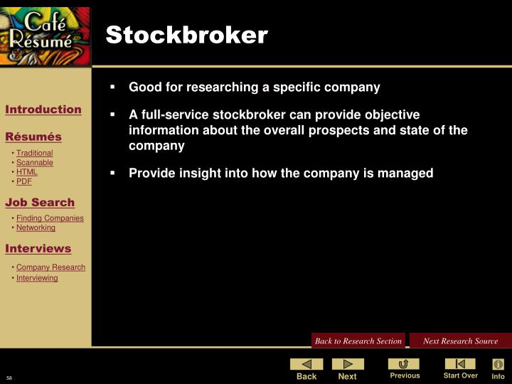 Stockbroker