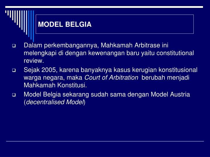 MODEL BELGIA