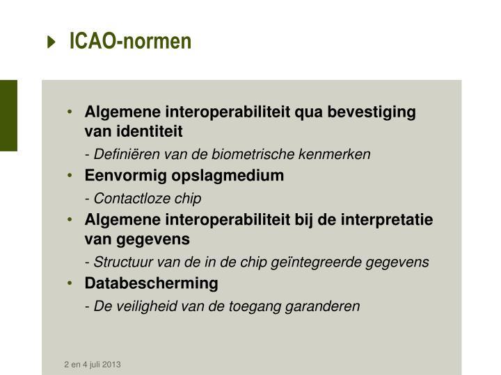 ICAO-normen