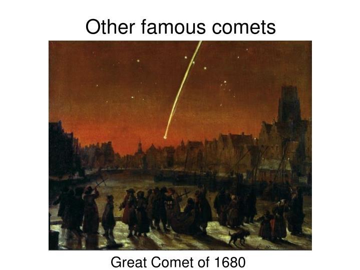 Great Comet of 1680
