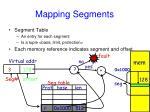 mapping segments