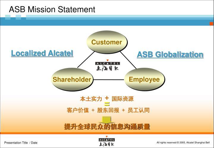 ASB Mission Statement