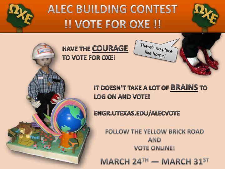 Alec Building Contest