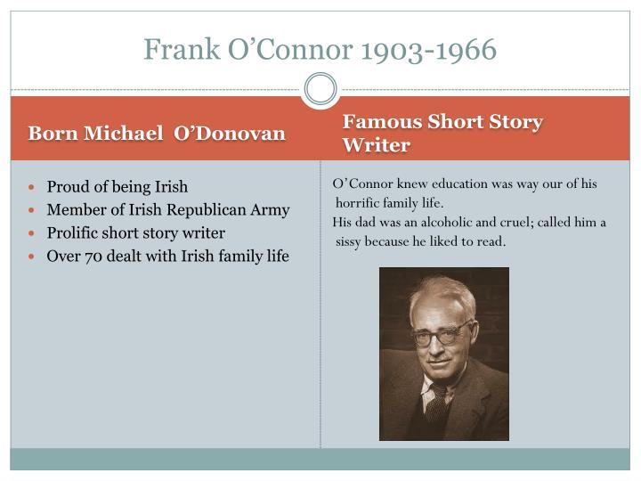 Frank O'Connor 1903-1966