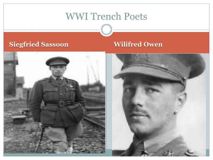 Wwi trench poets