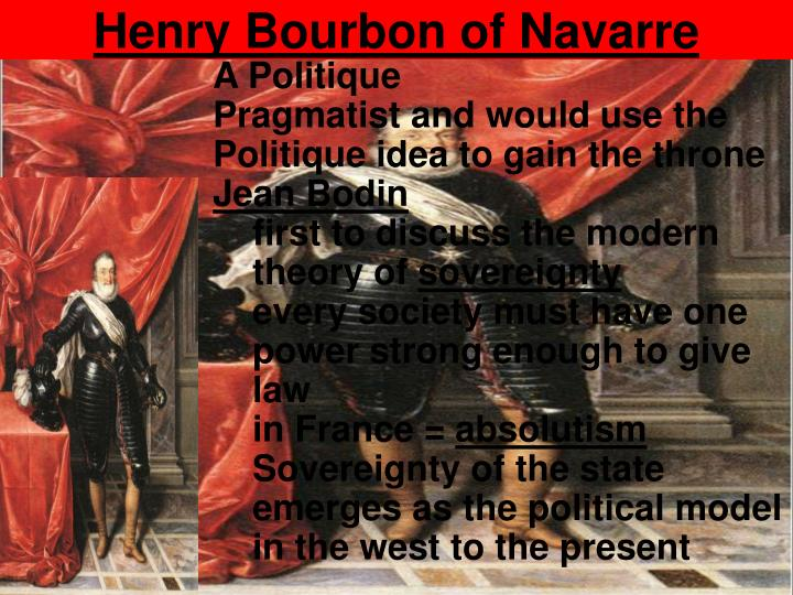 Henry Bourbon of Navarre