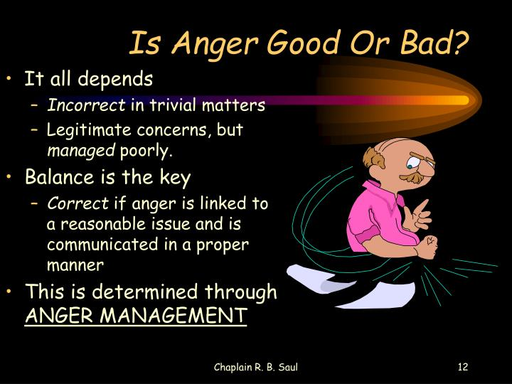 Is Anger Good Or Bad?