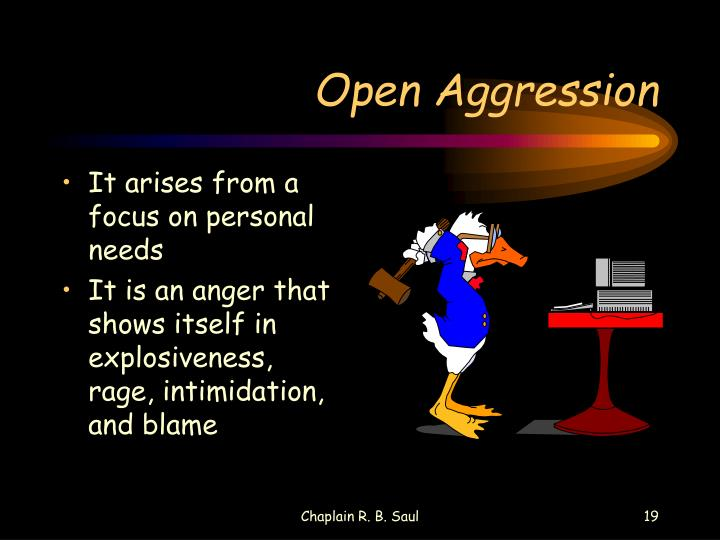 Open Aggression