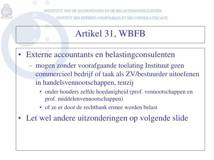Externe accountants en belastingconsulenten