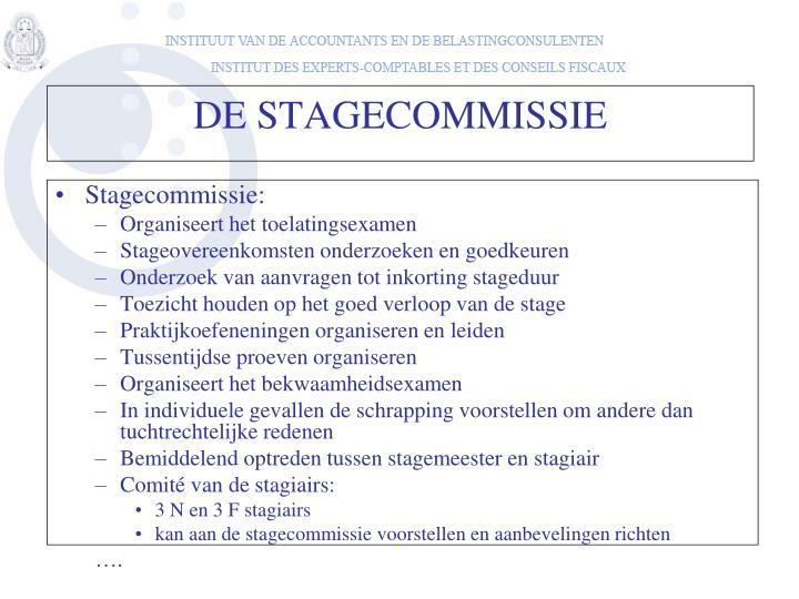 Stagecommissie: