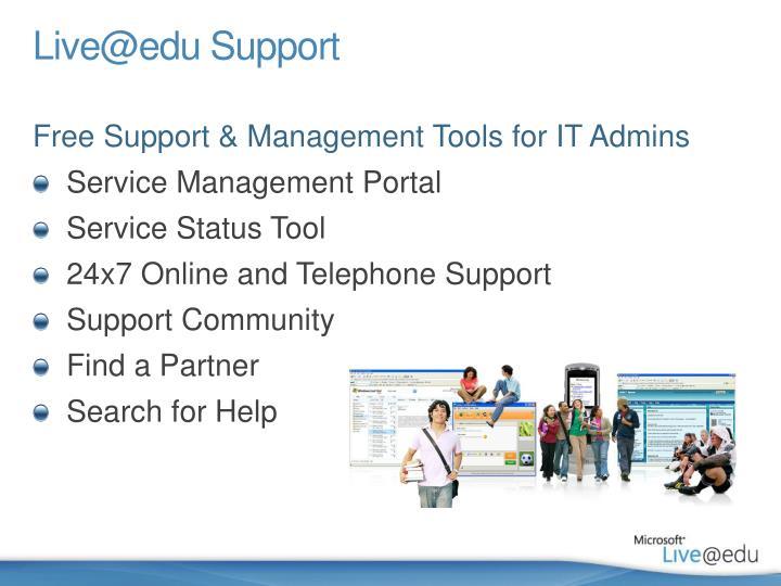 Live@edu Support