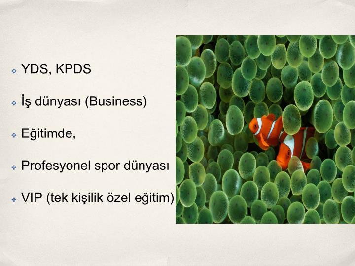 YDS, KPDS