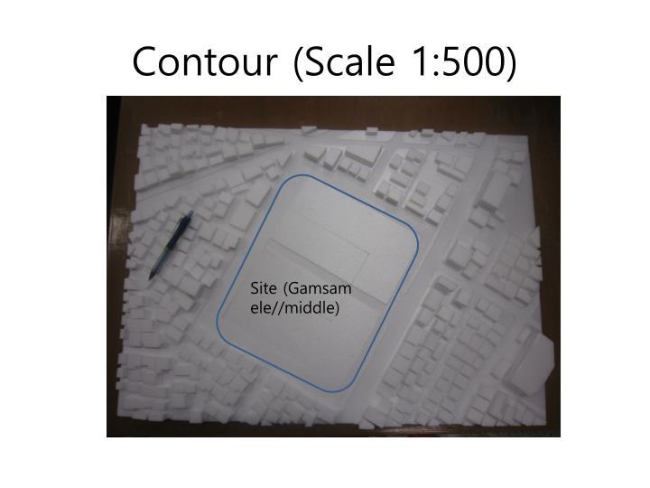 Contour (Scale 1:500)
