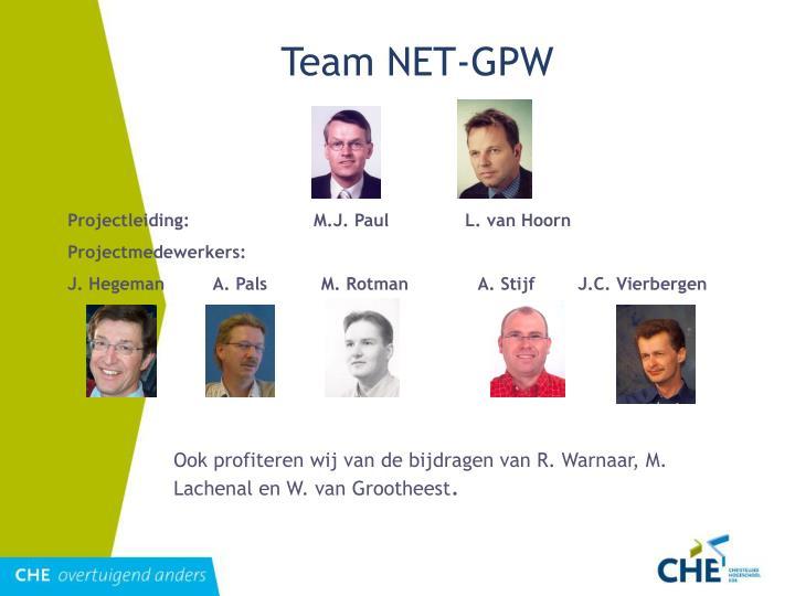 Team NET-GPW