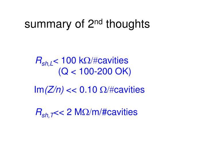 summary of 2