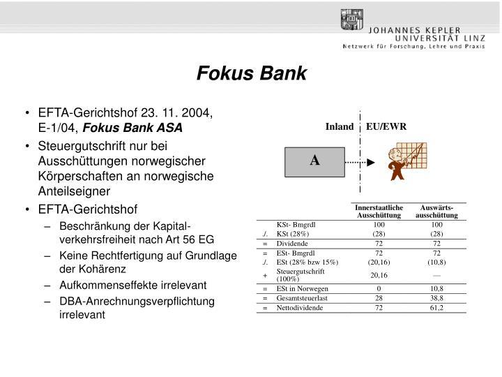 Fokus Bank