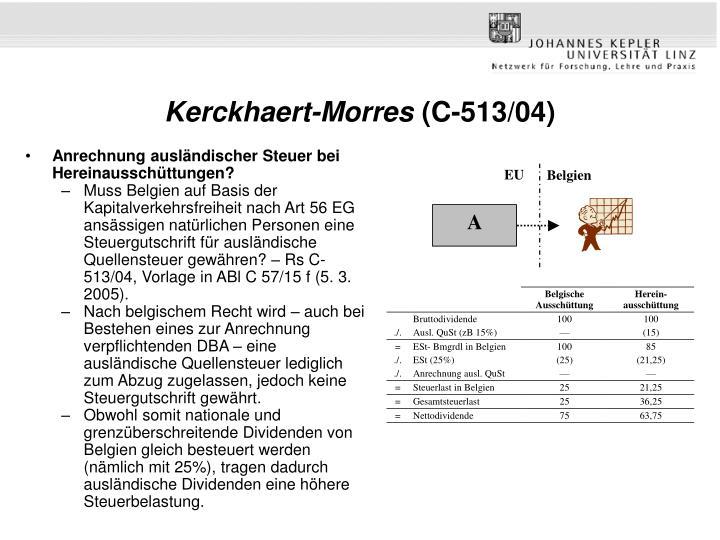 Kerckhaert-Morres