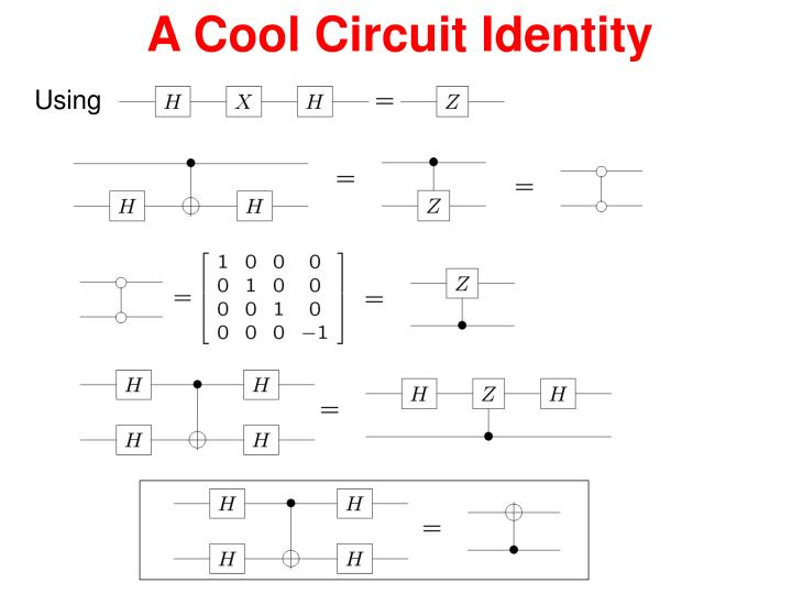 A Cool Circuit Identity