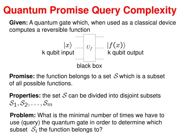 Quantum Promise Query Complexity