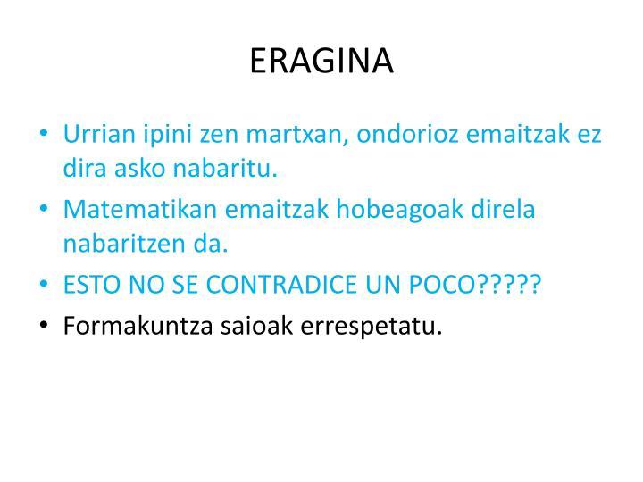 ERAGINA