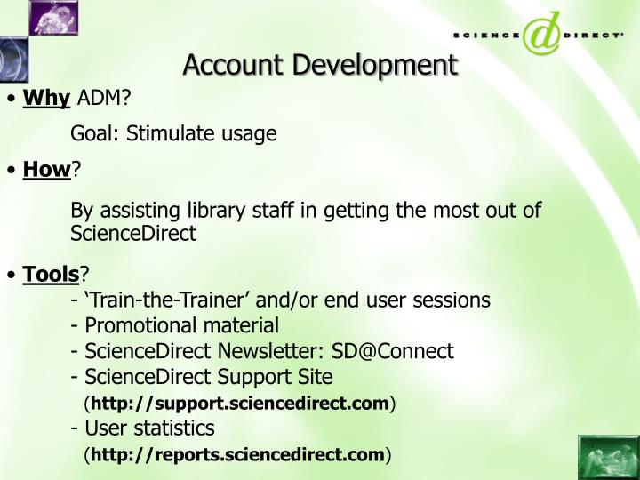 Account Development