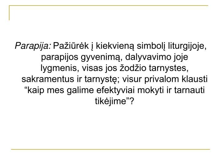 Parapija: