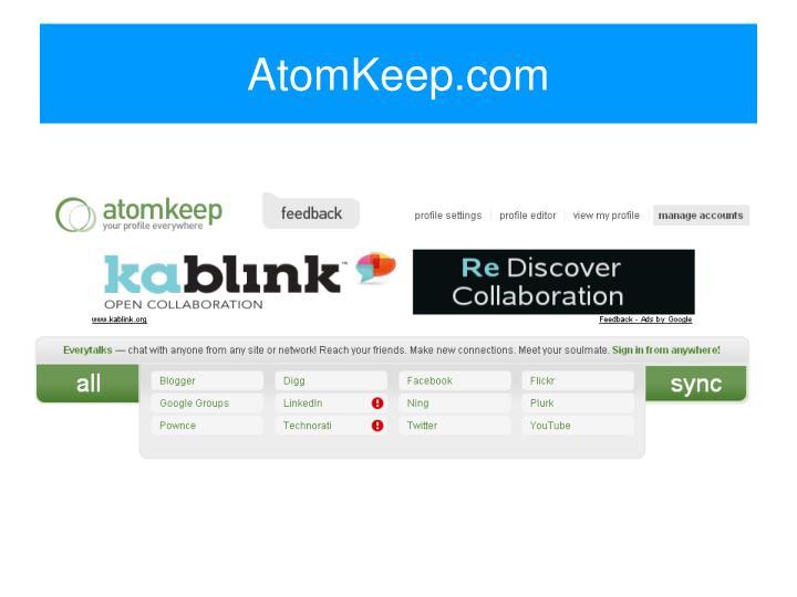 AtomKeep.com