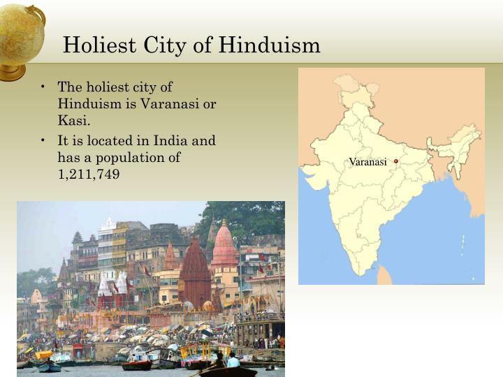 Holiest city of hinduism