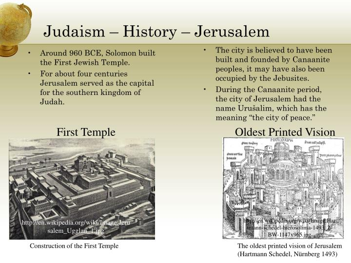 Judaism – History – Jerusalem