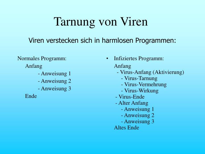 Normales Programm: