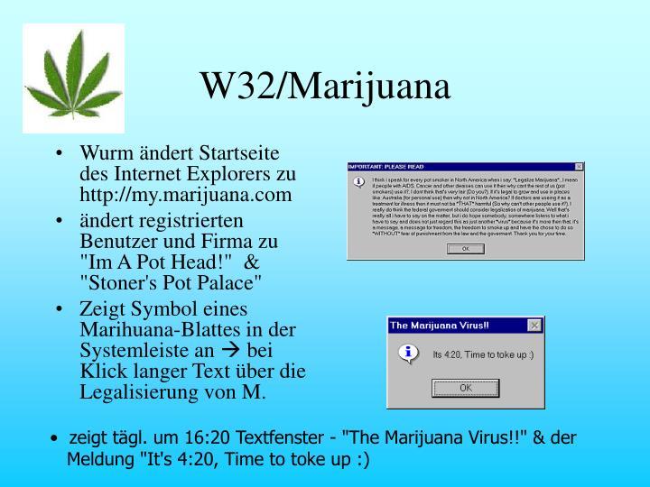 W32/Marijuana