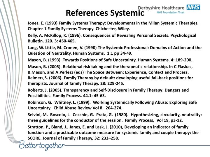 neutrality in family systemic therapy Fam proc 21:353-357, 1982 a note on spinoza's contribution to systemic therapy sebastian€kraemer, ba, mrcp, mrc psycha aconsultant in child and family psychiatry, child guidance training centre, tavistock centre, 120 belsize lane, london nw3 5ba writing 300 years ago the philosopher spinoza anticipated some of the fundamental principles of systemic therapy.